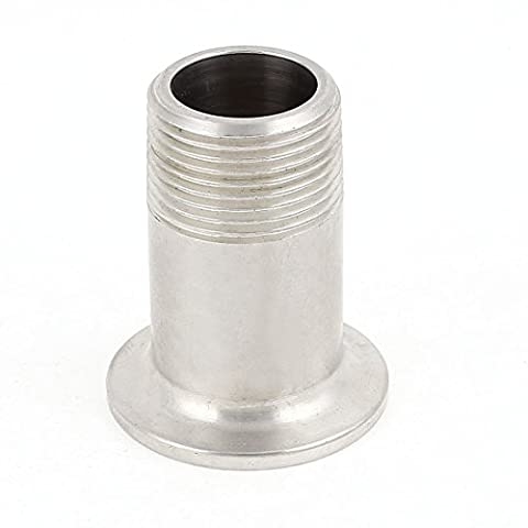 Stainless Steel 304 KF-25 Flange to 3/4BSP Male Thread Adapter Fitting