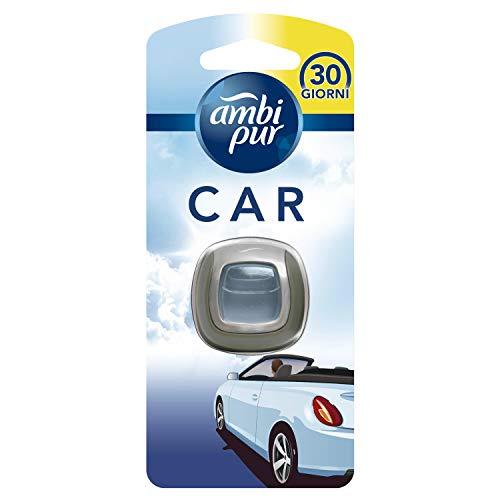 Ambi Pur Car Brezza Leggera Deodorante Auto Clip, 1 Pz