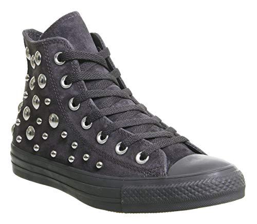 Converse Chuck Taylor All Star Hi, Unisex Sneaker, Schwarz - Schwarz (Almost Black Multi Studio Exclusive) - Größe: 5.5 UK Bambus-studio