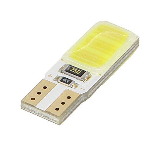 ZGMA T10 Moto Ampoules électriques 3W SMD 4014 200lm LED White Flood T10