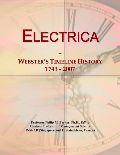 electrica-websters-timeline-history-1743-2007