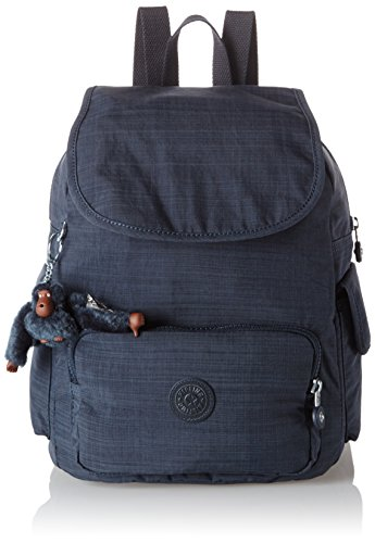 Kipling - City Pack S, Mochilas Mujer, Blau (Dazz True Blue), One Size