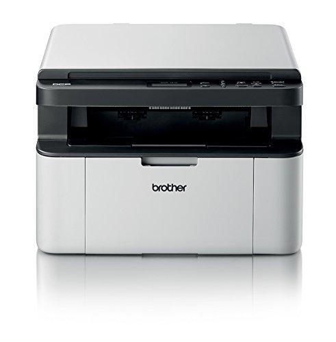 Brother DCP-1510 Stampante Multifunzione Laser, Compatta, Monocromatica, Display LCD, USB [Italia]