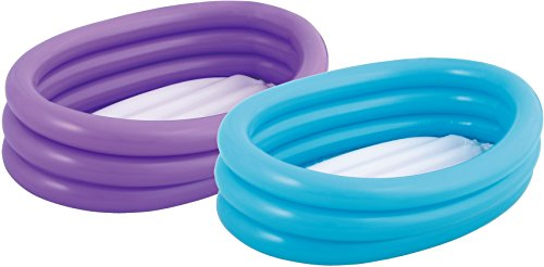 Bestway Inflable Piscina Splash and Play 3 Anillos ovales 91cm x 66cm x 25cm 51034