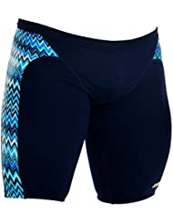 Funky Trunks Entraînement Jammers Static Blur Mens/Boys (34/M)