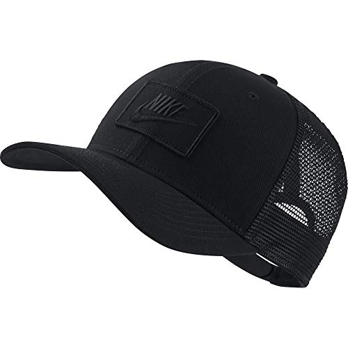Nike U NSW CLC99 Cap Trucker Hat, Black, MISC