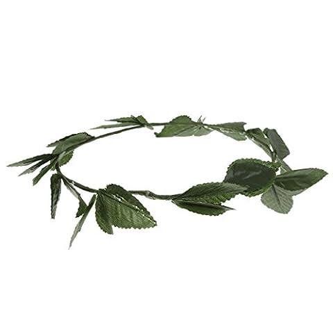 Sharplace Blatt Stirnband Roman Kostüm Zubehör (Griechische Göttin Kopfschmuck Kostüm)