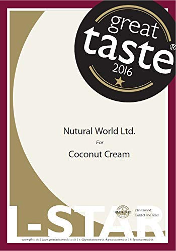 Nutural World - Coconut Cream (170g) Great Taste Award Winner 2