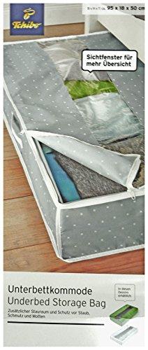 TCM Tchibo Unterbettkommode Aufbewahrungsbox mit Deckel ca. 95x18x50 cm