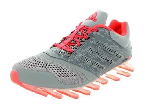 Adidas Springblade dur 2 Gris / Argent métallique / Course rose Shoe 6 nous Grey/Metallic Silver/Pink