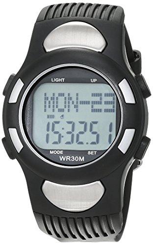 Counter-abdeckung (Foxnovo® All-in-One digital Herzfrequenz-Armbanduhr mit Schrittzähler / Alarm / Kalender / Calorie Counter / Stoppuhr / EL Hintergrundbeleuchtung)
