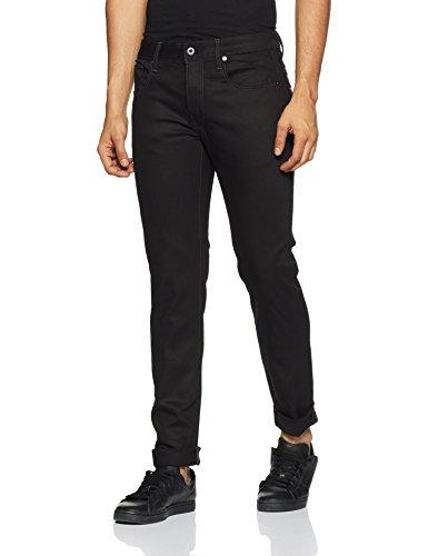 G-STAR RAW Herren 3301 Slim Jeans - Mens Stone-washed Baumwoll-denim