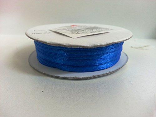 2-bobine-da-3mm-x-50-metri-doppio-raso-x-segnaposto-bomboniera-sacchettino-confetti-ckr3-new-blu