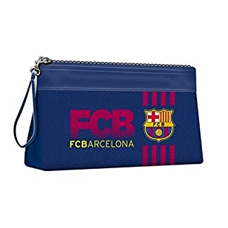 Karactermania FC Barcelona Blaugrana Bolsa de Aseo, 25 cm, Azul