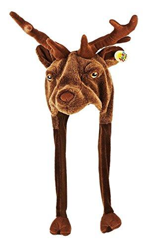 Für Dachs Erwachsene Kostüm (Tiermütze Plüsch Mütze)