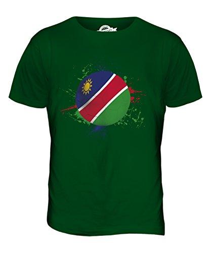CandyMix Namibia Fußball Herren T Shirt Flaschengrün