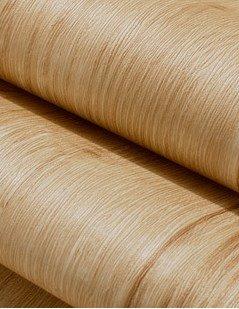 Vintage Wood Grain papier peint Style méditerranéen Salon Chambre TV Fond Mur papier peint non tissé 0.53m (52,8cm) * 10m (32,8') = 5.3sqm (Gris argenté), Only the wallpaper, White Oak color