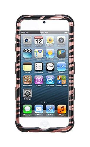 MyBat Handy Fall für Apple Geräte-Retail Verpackung-Schwarz/Gold Zebra Ipod Fall