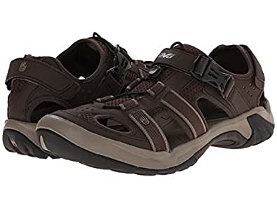Teva Men's Omnium Closed-Toe Sandal (7 D(M) US, Turkish/Coffee)