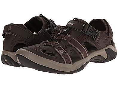 Teva Men's Omnium Closed-Toe Sandal (7 D(M) US, Turkish /Coffee)