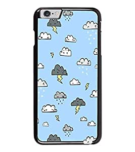 PrintDhaba Cloud Pattern D-1442 Back Case Cover for APPLE IPHONE 6 PLUS (Multi-Coloured)