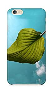 Amez designer printed 3d premium high quality back case cover for Apple iPhone 6s (Big green leaf fine)