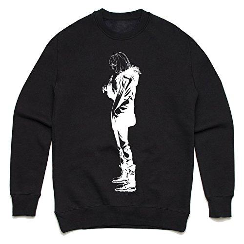Death Note Mello Unisex Sweater Schwarz