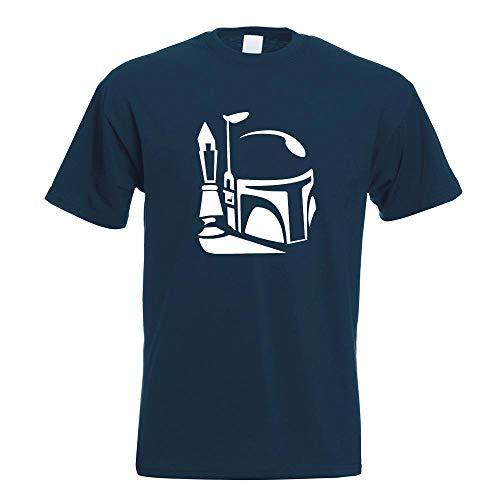 Kostüm Helm Fett Jango - Boba Fett Helm 2 T-Shirt Motiv Bedruckt Funshirt Design Print