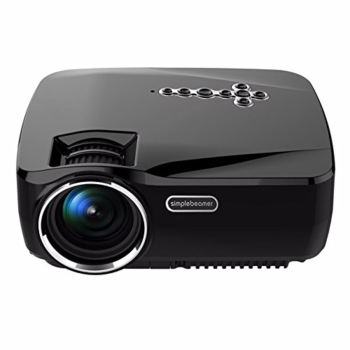 Affordable BW 1200 Lumen Android Projector – 1080P Support, 25 to 100 Inch Display, Android 4.4, Kodi, Dual Band Wi-Fi on Line