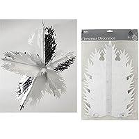 "30"" x 5 Section Snowflake Foil"