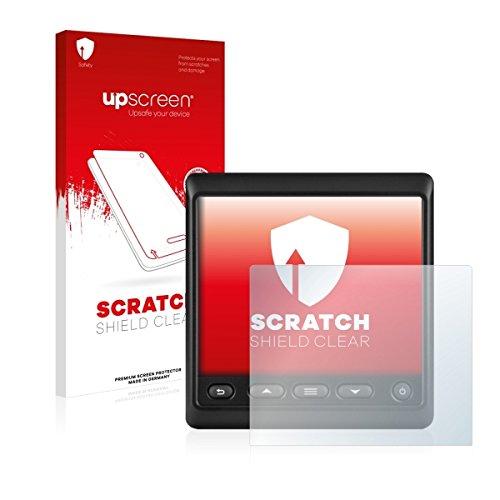 upscreen Scratch Shield Clear Displayschutz Schutzfolie für Garmin GNX 21 (hochtransparent, hoher Kratzschutz)