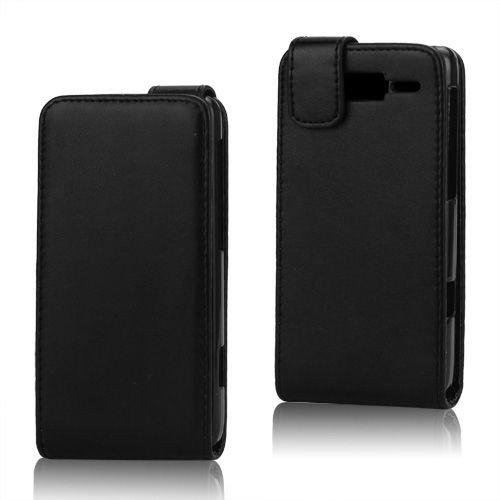 COGODIS Flip Case Handytasche zu Motorola RAZR i / XT890 - Schwarz - Flipcase, Schutz-Hülle, Klapp-Tasche, Cover