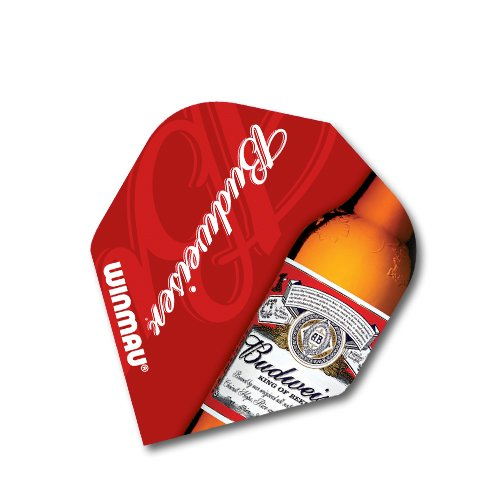 f2090-budweiser-bottle-std-dart-flights-4-sets-per-pack-12-flights-in-total