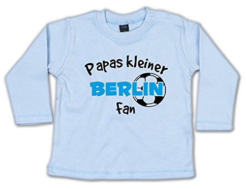 Papas Kleiner Berlin Fan Baby Sweatshirt 268.0233 (3-6 Monate, blau)
