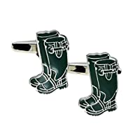 Wellington Boots Cufflinks Presented in a Box