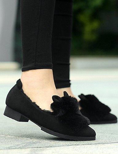 ZQ Scarpe Donna - Sneakers alla moda - Casual - A punta - Basso - Finta pelle - Nero / Grigio / Animal , gray-us8 / eu39 / uk6 / cn39 , gray-us8 / eu39 / uk6 / cn39 gray-us7.5 / eu38 / uk5.5 / cn38