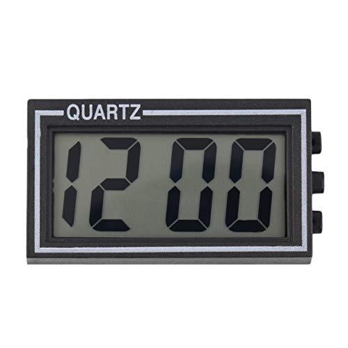 ststoff Kleine Digitale LCD Tisch Auto Armaturenbrett Schreibtisch Datum Zeit Kalender Kleine Uhr Mit Kalenderfunktion TS-CD92 ()