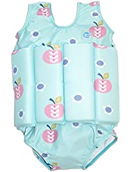 Splash About Kid's traje de baño con flotadores, Infantil, Float, Apple Daisy, S