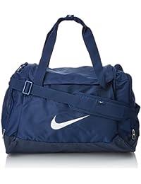 Nike Club Team Swoosh Duffel S Bolsa de deporte, 40 cm, 43 liters, Azul (Dunkelblau)