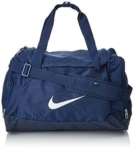 Nike Club Team Swoosh Duffel S Borsone, 40 cm, 43 liters, Blu (Dunkelblau)