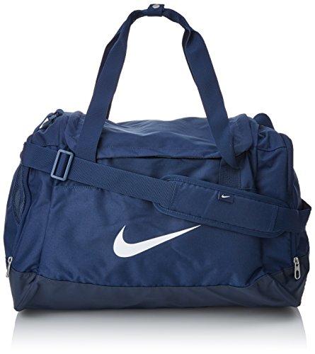 Nike Tasche Club Team Duffel, dark blue/white, 40 x 23 x 27 cm, 43 Liter, BA5194-410 Frauen-tennis-schuhe Blau