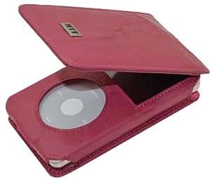 MTT Flip-Tasche für Apple iPod Classic Modelle - 30GB / 60GB / 80GB / 120GB / 160GB Video / wash-pink