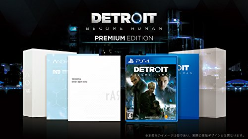 ?PS4? Detroit: Become Human Premium Edition JAPANESE IMPORT [video game]