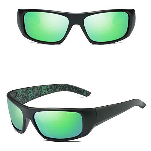UZZHANG Polarisierte Mode Sport Night Vision Sonnenbrille für Baseball Radfahren Angeln Golf Superlight Frame (Farbe : 06) Vision Lighting Sales