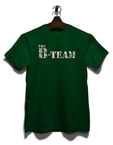 The B Team Vintage T-Shirt Dunkel Grün