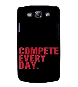 PrintVisa Quotes Design 3D Hard Polycarbonate Designer Back Case Cover for Samsung Galaxy S3 Neo