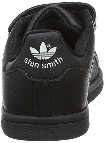 adidas Stan Smith CF I, Chaussures Premiers Pas Mixte Bébé Noir (Core Black/footwear White 0)