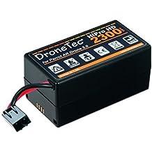 Original DroneTec HD Power Akku für Parrot AR Drone 2.0 * 2300mAh - 25min Flugzeit (auch für BeBop verwendbar)