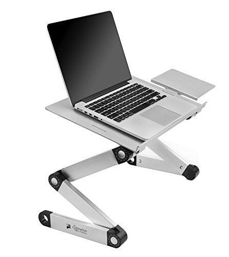 Executive Office Solutions - Portátil portátil de aluminio ajustable escritorio / soporte...