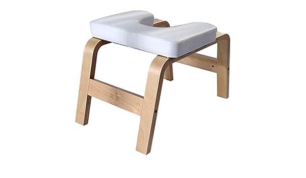 Dlt panca di legno headstand panca yoga fitness panca per yoga in